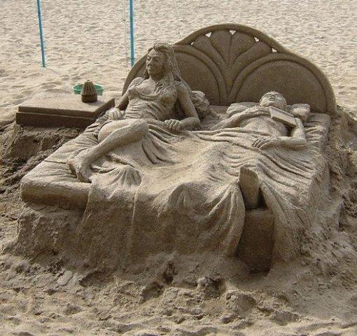 диван из песка