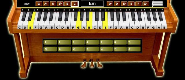 flash-игра пианино