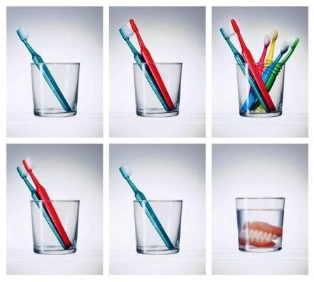 История жизни и любви зубных щеток
