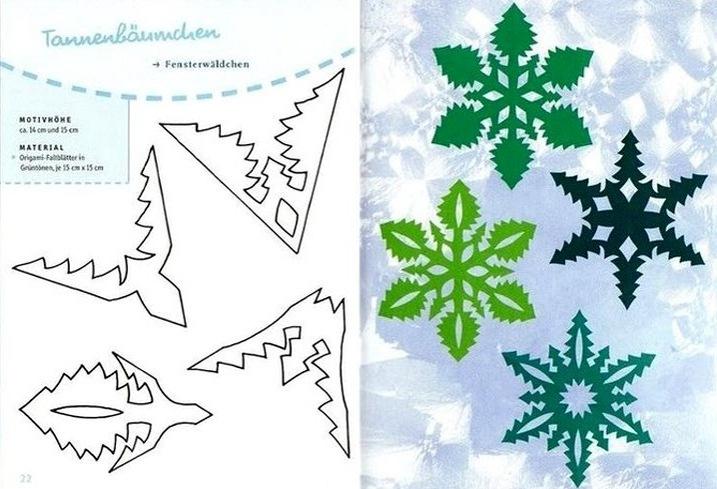 Снежинка на новый год своими руками из бумаги фото