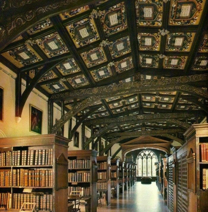 библиотека Хогвартс