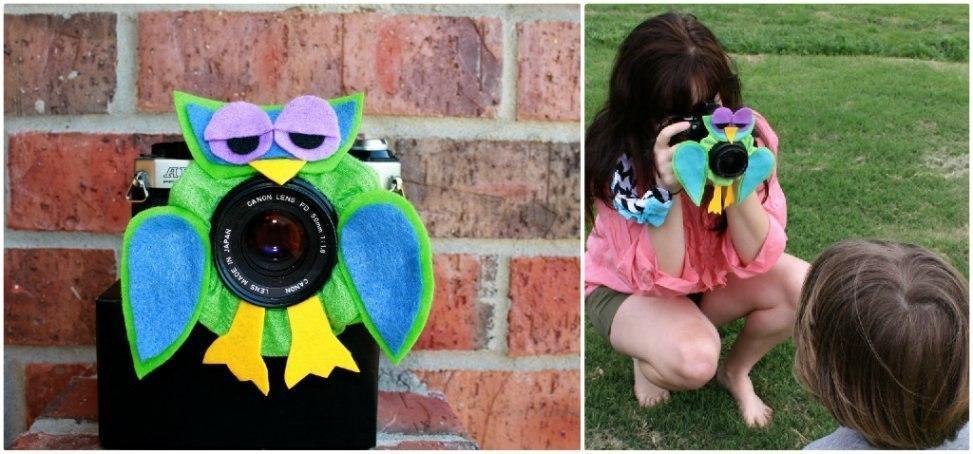 Как заставить ребёнка смотреть в фотообъектив?