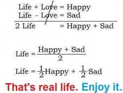 Главное уравнение жизни