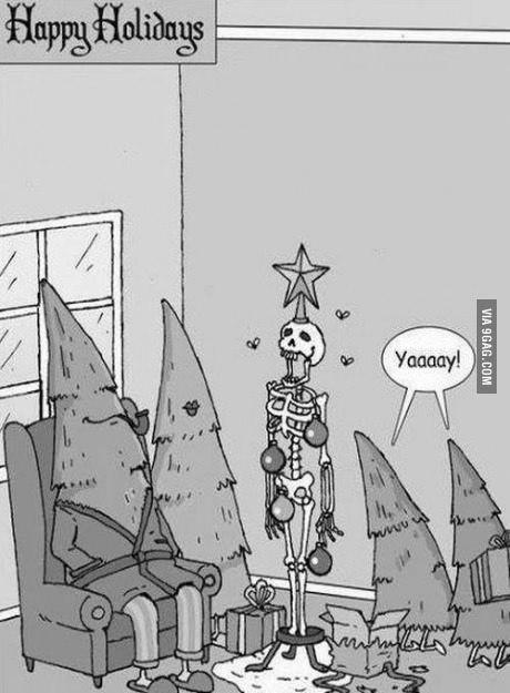 елки справляют Новый год