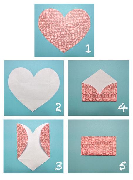 Как сделать красивые конверты своими руками на