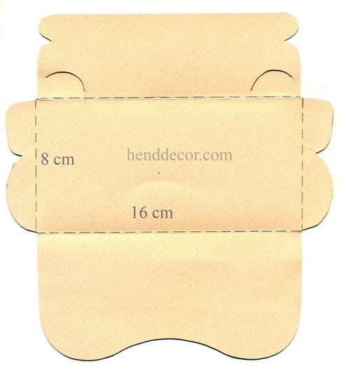 Шаблоны для конверта своими руками