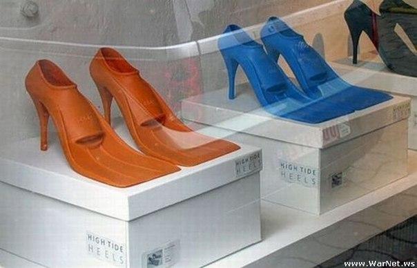 ласты на каблуках