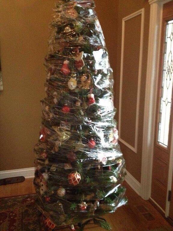 Как правильно наряжать елку