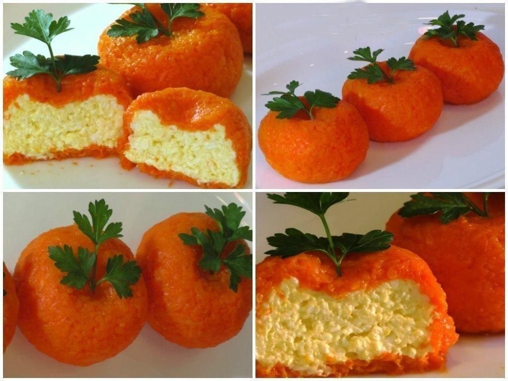 закуска мандарин