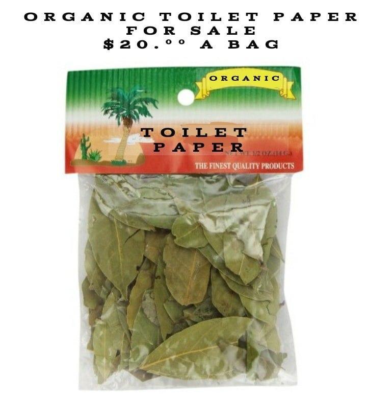 Органическая туалетная бумага